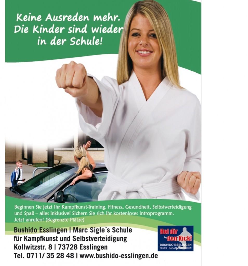 Karate Esslingen Selbstverteidigung Frauen